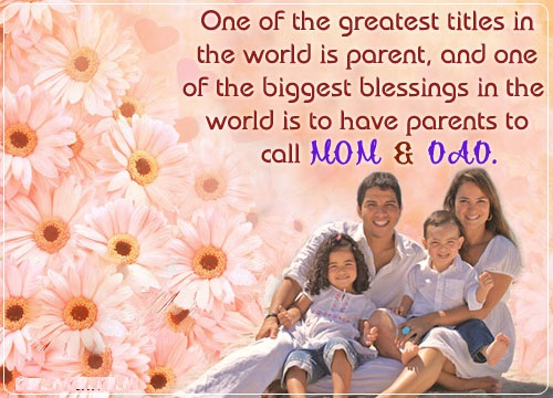 Best quotes on parents day | Best Holiday Pictures