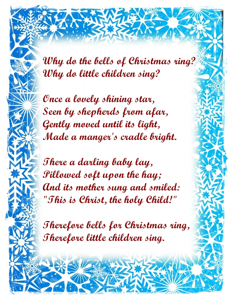 Merry Christmas Poems : Christmas Poems Pictures
