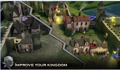 Game Action Petualangan Knight Storm MOD APK Android
