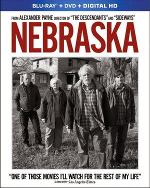 Nebraska Starring Bruce Dern on Blu-ray and DVD