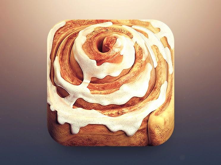 Cinnamon Roll 3D Cinnamon