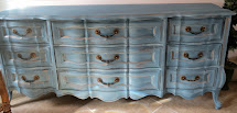 Painting a French Dresser