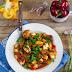 Curry z tofu i bakłazanem