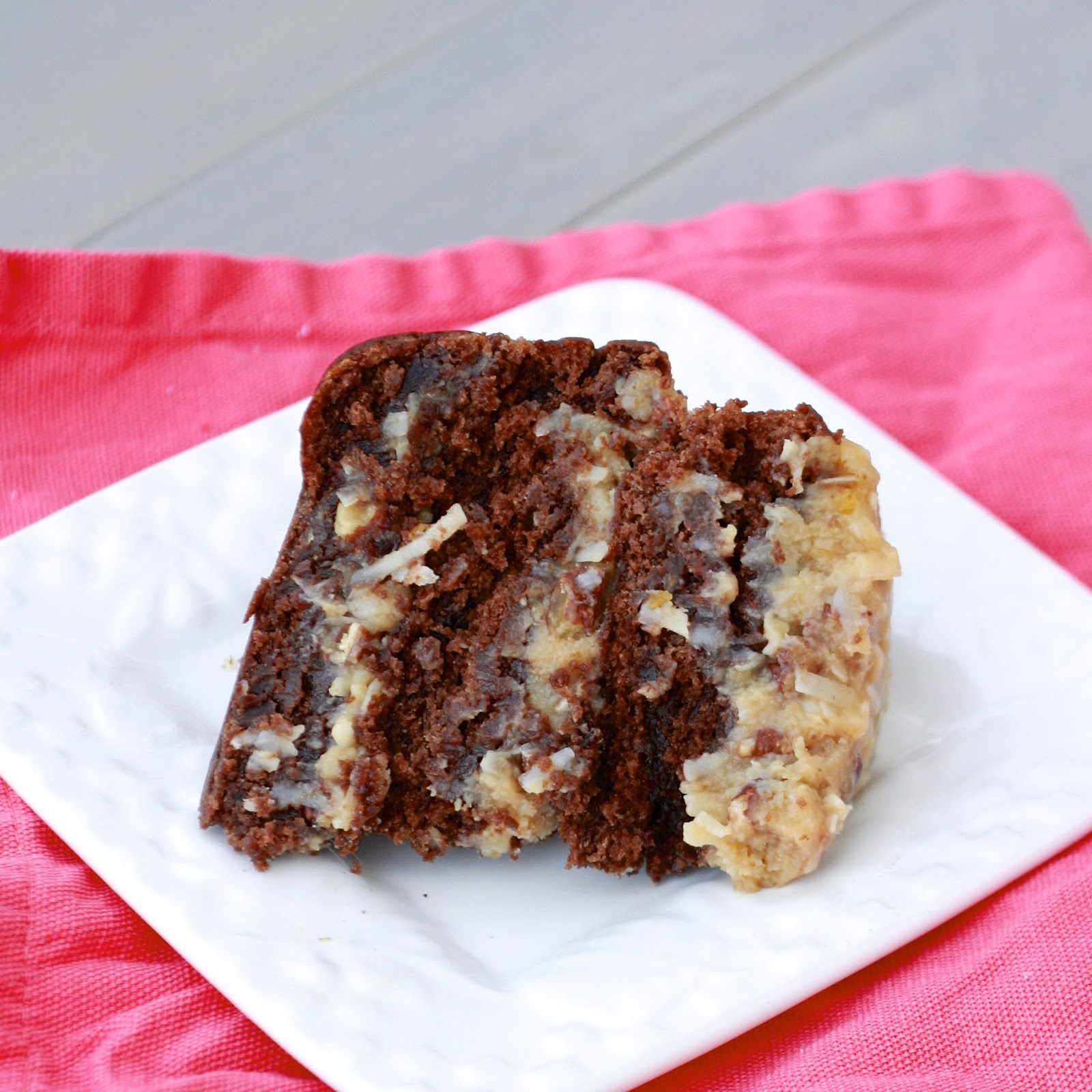 German Chocolate Cake | The Sweets Life