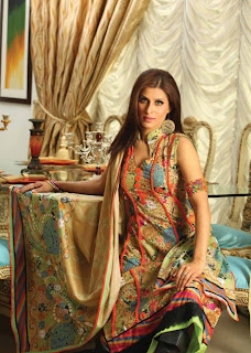 GUL AHMED FASHION MAGZINE 2011-2012