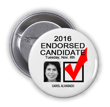 RACE FOR STATE REPRESENTATIVE, DISTRICT 145 -- Carol Alvarado