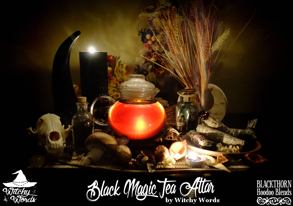 Witchy Words: Blackthorn Hoodoo Blends: Black Magic Review Hoodoo Magic