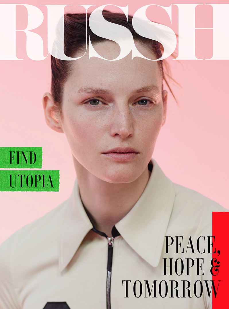 Fashion Model @ Vivien Solari By Johan Sandberg For Russh, April 2015