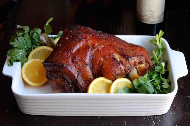 puerto rican pernil from the puerto rican christmas table ecookbook - Puerto Rican Christmas Food