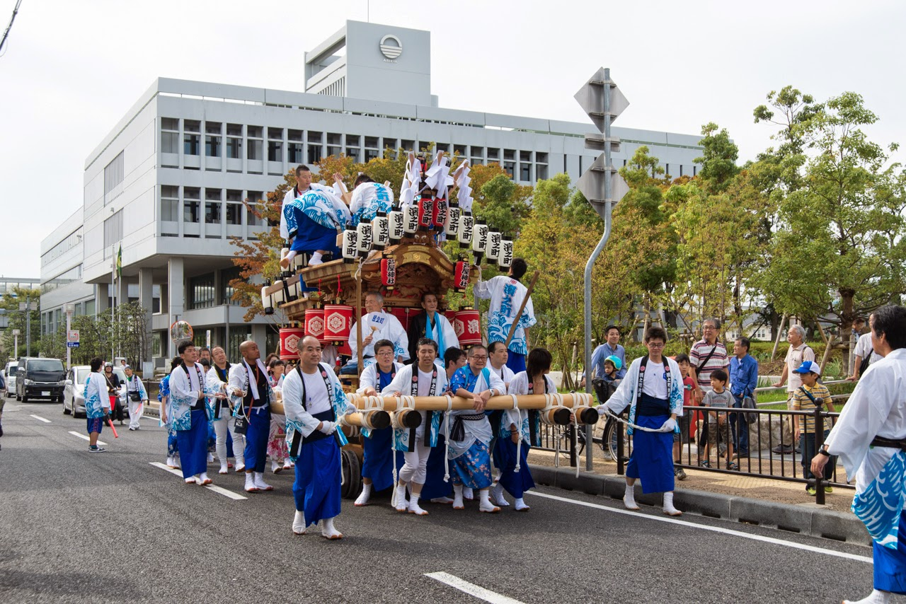 Tokiwai's Photo Blog: 芦屋濱之町地車 60年ぶりの復活 2014年度 ...