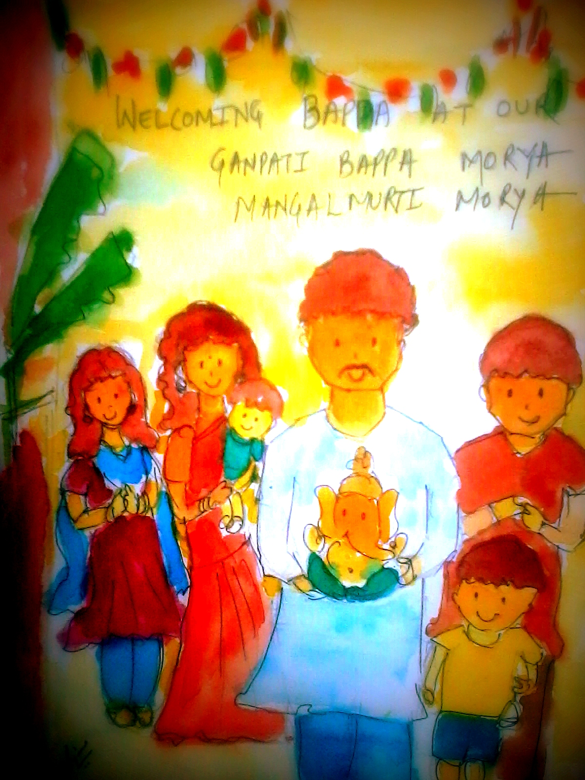 Chumma Draw: Happy Ganesh Chaturthi