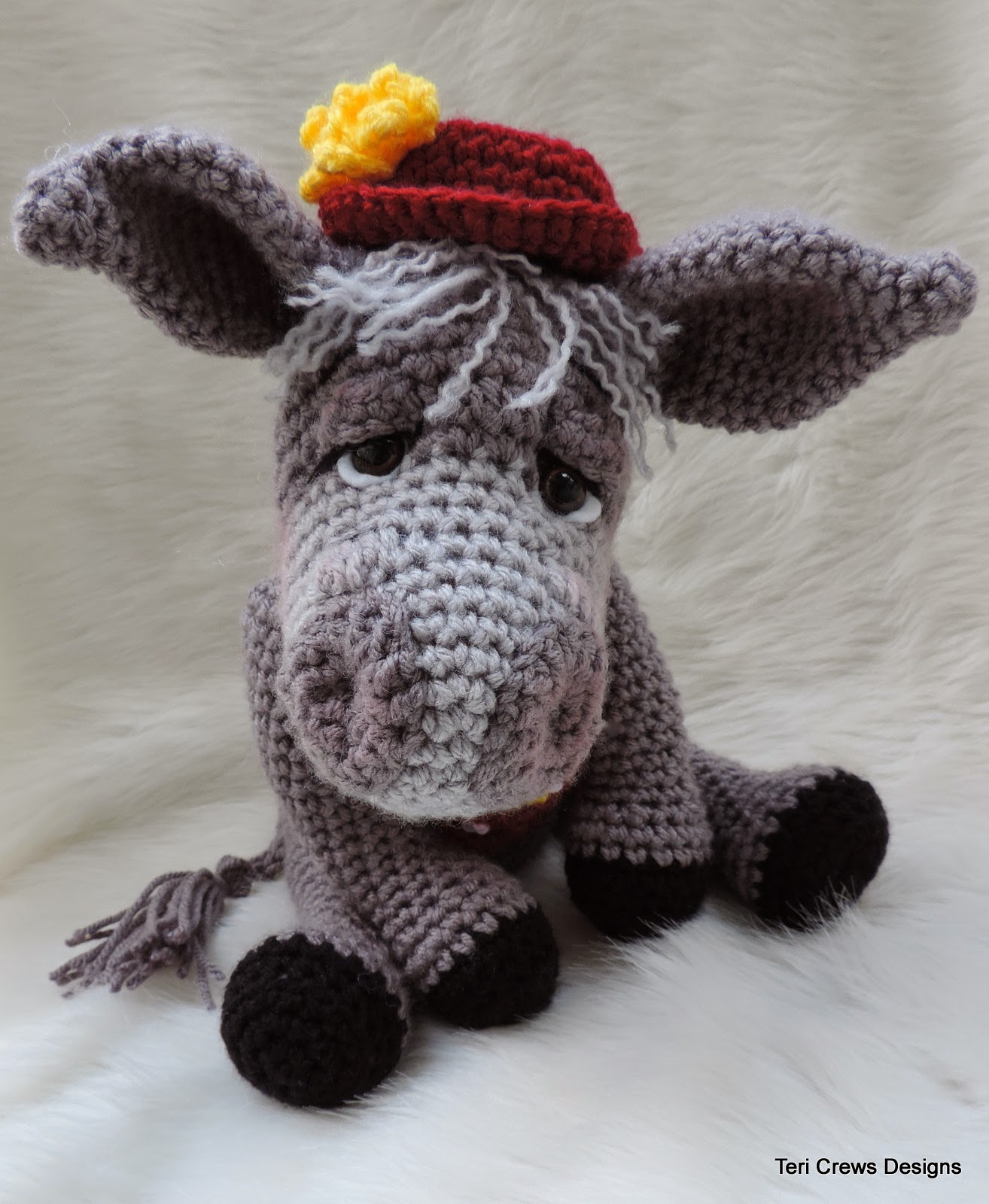 Teris Blog: New Donkey Crochet Pattern