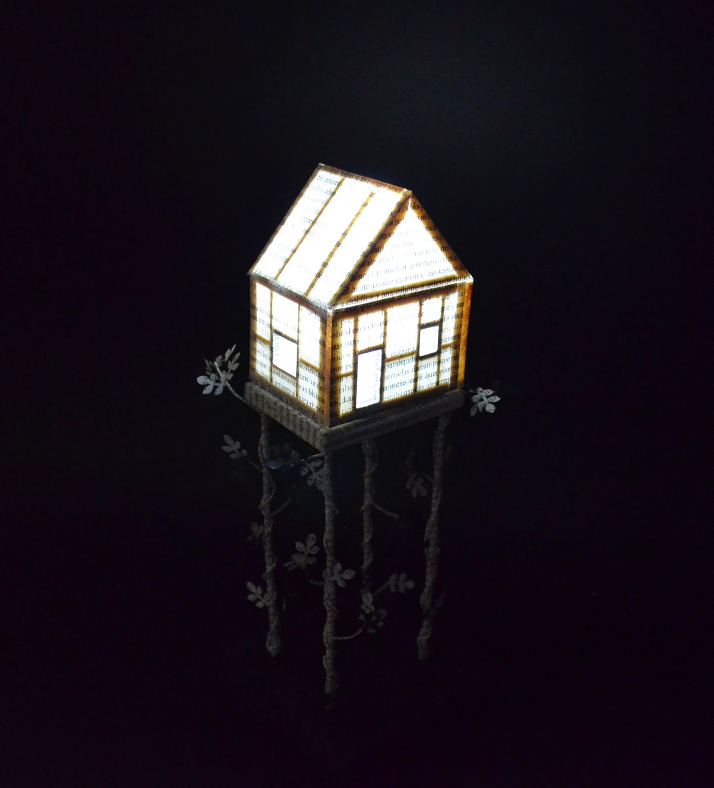 night-light-paper-house
