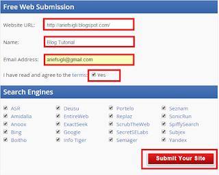 Cara Mendaftar Blog ke Mesin Pencari