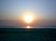 Sunset at Dumas Beach