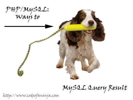 Ways to Fetch MySQL Query Result with PHP