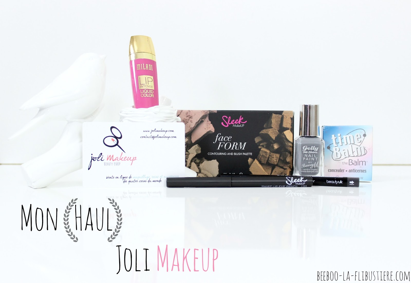 haul joli makeup