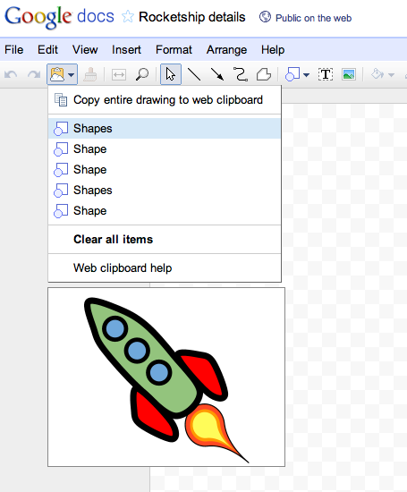 Google Drive Blog  This Week In Docs  Copying Drawings And