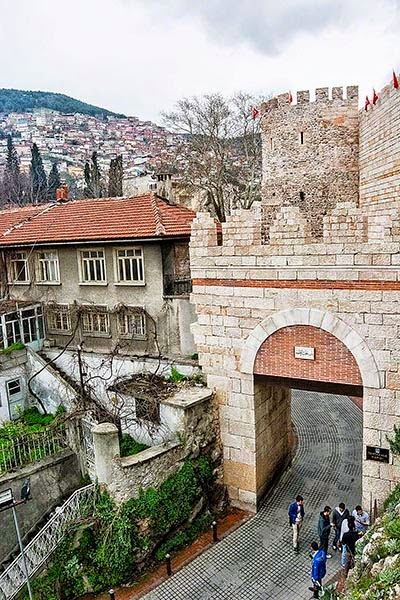 Tophane's Ottoman Walls