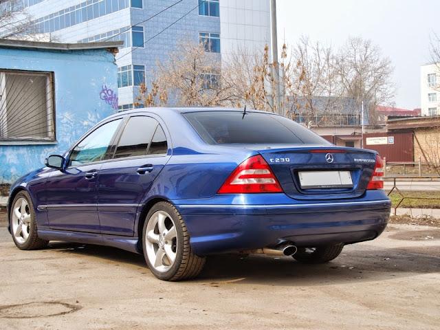 mercedes w203 designo blue