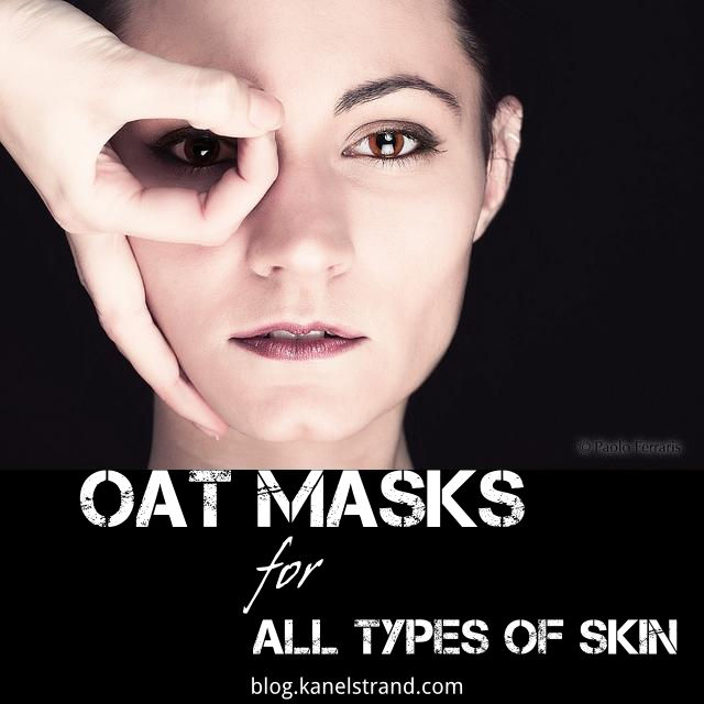 Easy homemade oat masks for all types of skin via @kanelstrand #homemade #beauty