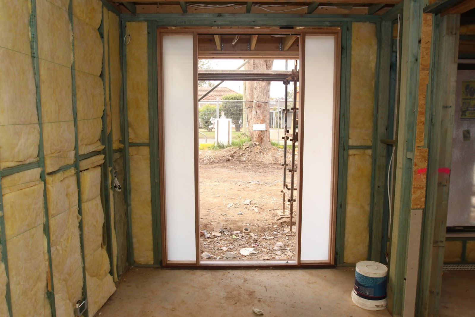 Front Door Insulation : Our metricon nolan journey ceiling wall and acoustic
