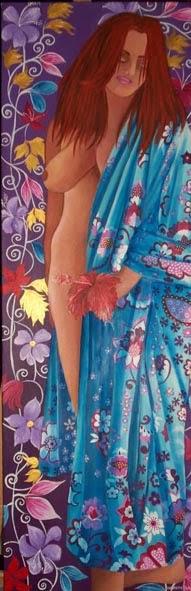 peignoir à l'hibiscus (2014)
