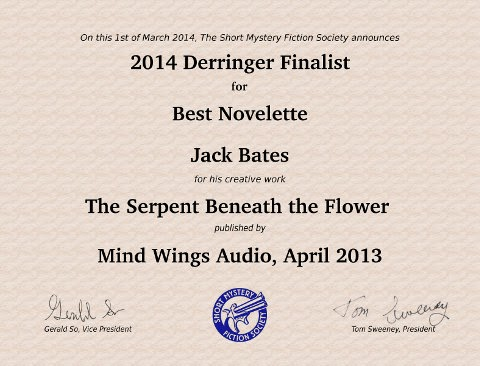 2014 Derringer Nomination