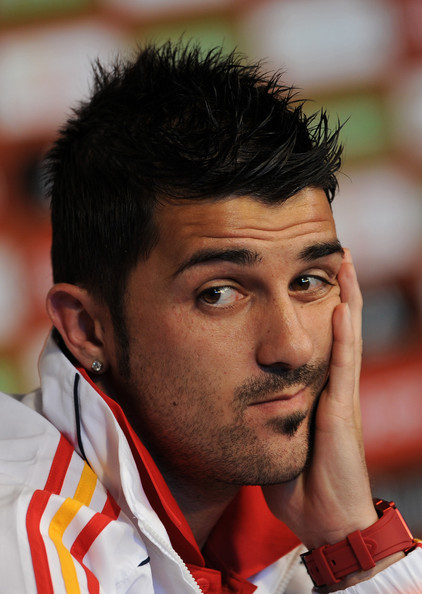 David Villa Hair 2013 David villa. bad day eh?