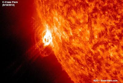 llamarada solar C3.9
