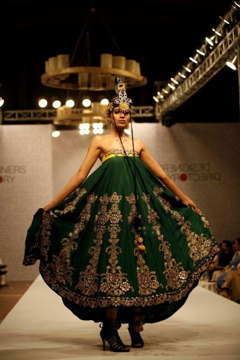 Ali Xeeshan Bridal Collection At Style360 Fashion Week 2011 Style360 Fashion Week Fashion