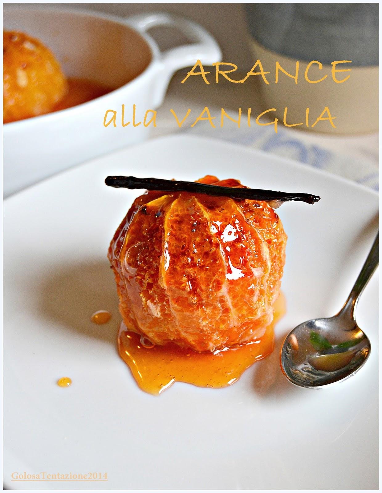 arance alla vaniglia