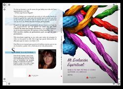 Mi libro: Mi Evolución Espiritual: Nunca fui una víctima o Cómo quitarse las arrugas