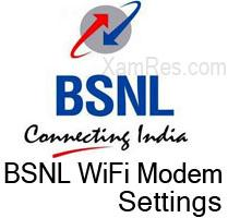 configure bsnl wifi modem enable wifi wlan