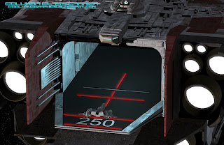 rear of the spacecarrier