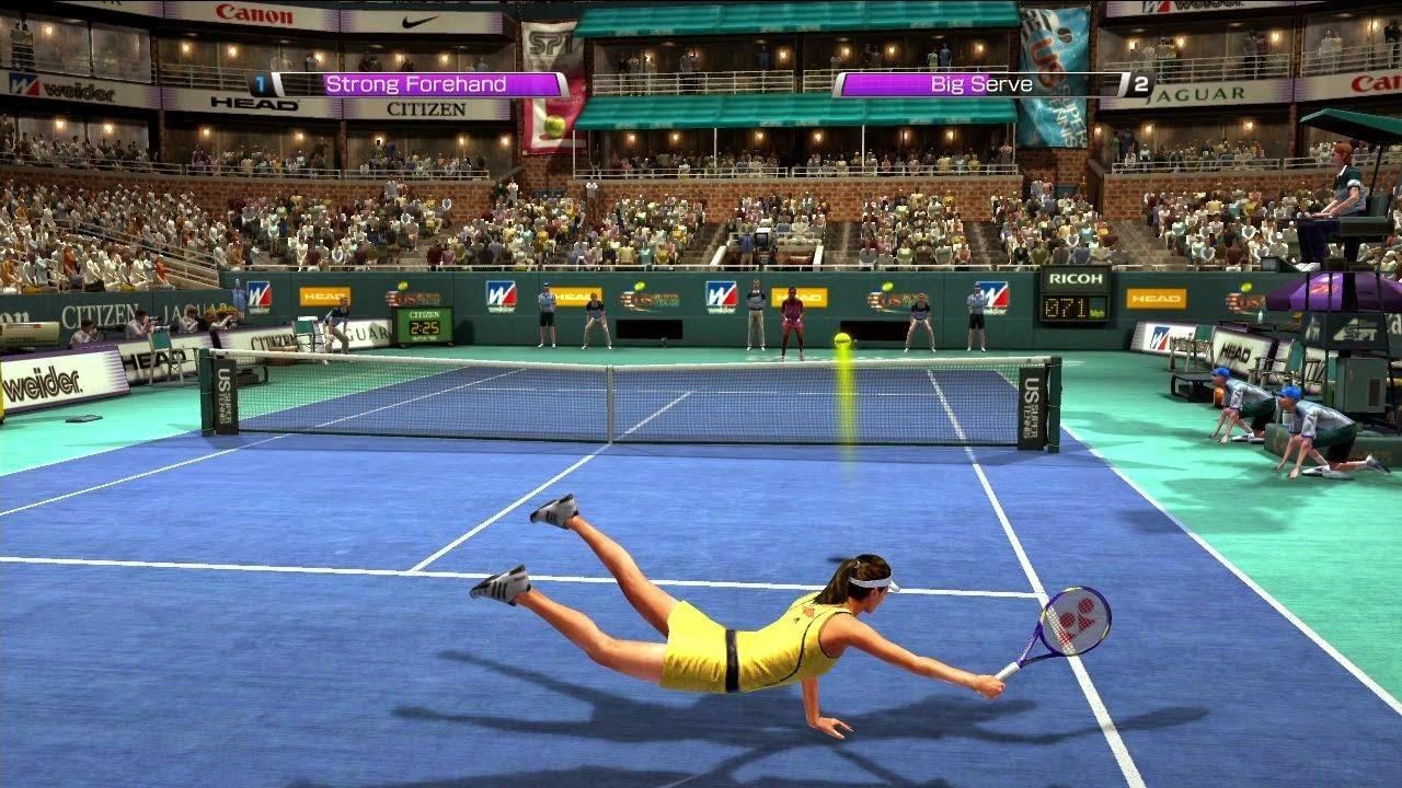 3D Game Tennis
