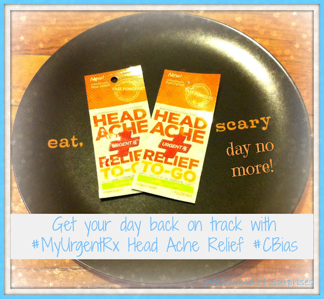 Getting my day back on track with #MyUrgentRx #CBias