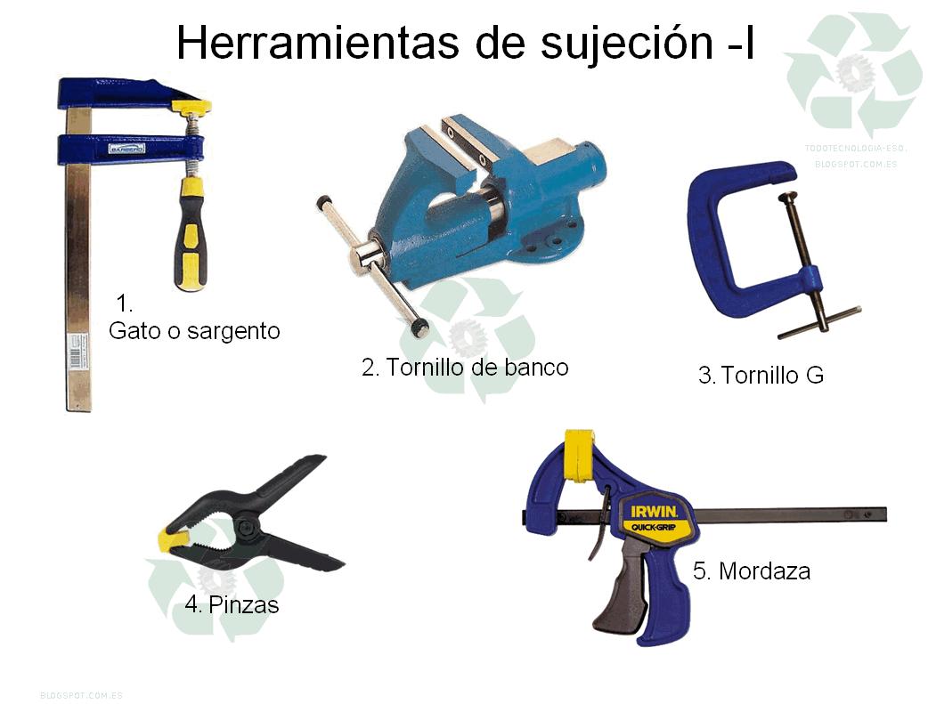 Herramientas de sujeci n for Herramientas que se utilizan en un vivero