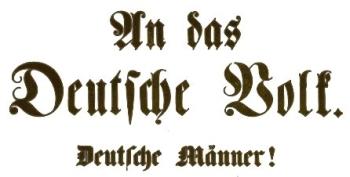 Aufruf des Centralmärzvereins vom 6. Mai 1849