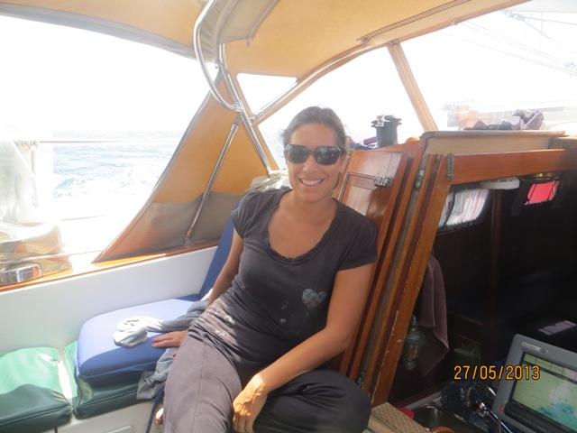 Les aventures de misty en navigation vers les tats unis for Chaise du capitaine