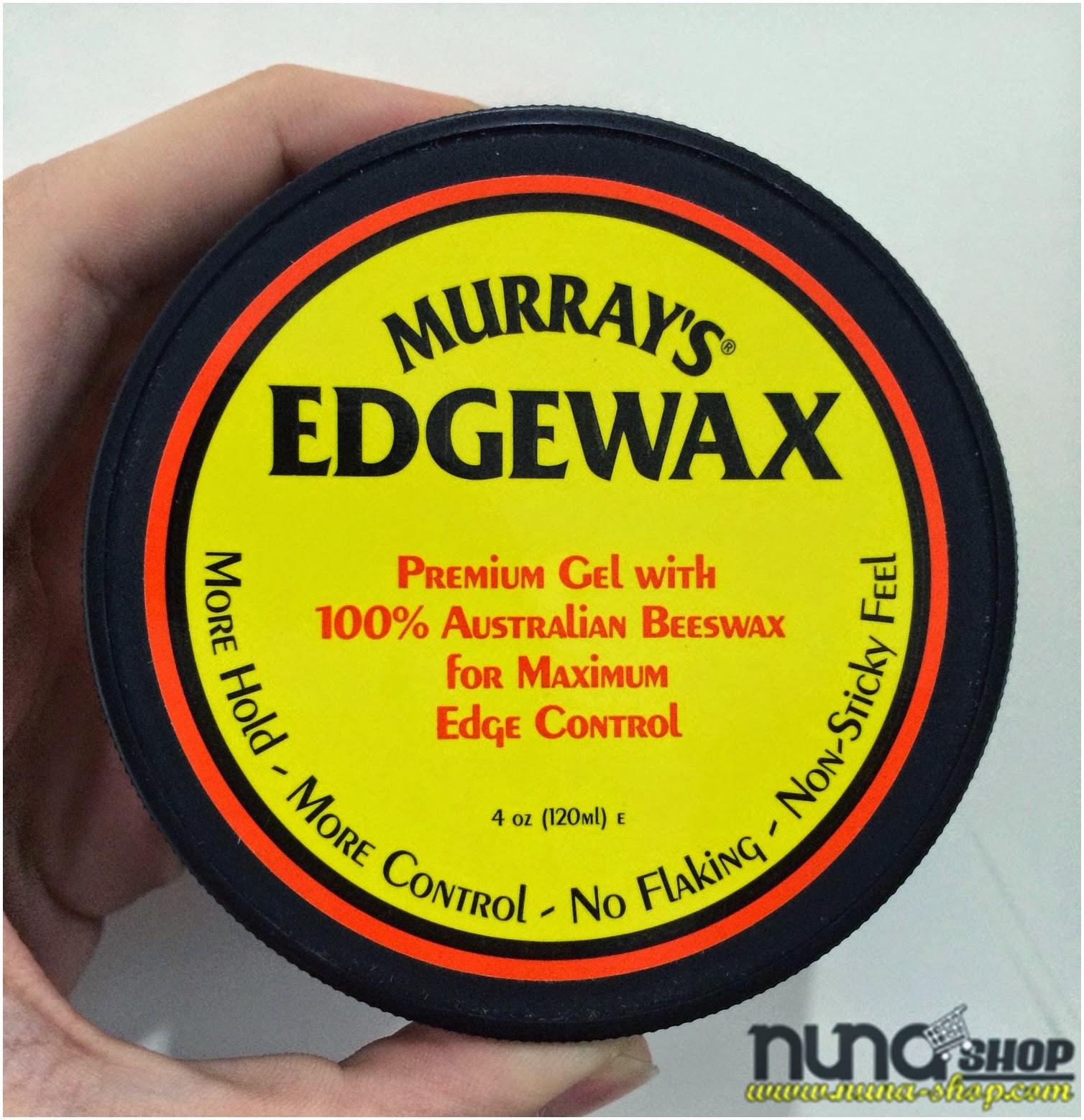 Pomade Edgewax Murrays Hair Vattenbaserad  Rockabilly 50's Psychobilly Frisyr till Greasers