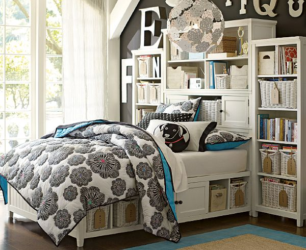 30 room design ideas for teenage girls. Black Bedroom Furniture Sets. Home Design Ideas