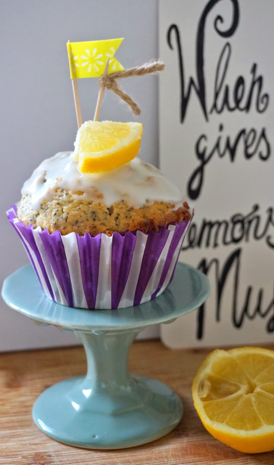 Zitrone Mohn Muffins, Zitronenmuffins, Ich back's mir April, Backaktion Tastesheriff