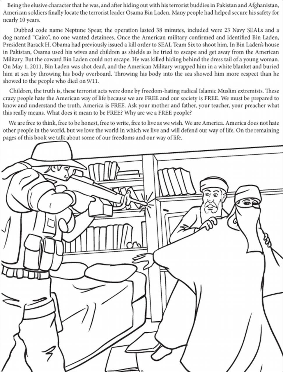 Una editorial publica un libro para colorear el asesinato de Bin ...