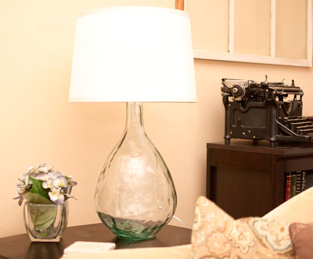 Home Made Pottery Barn/West Elm Lamp Knock Off