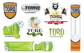 Danny Moore Illustrations Torq Energy Drink Logos Logo Design