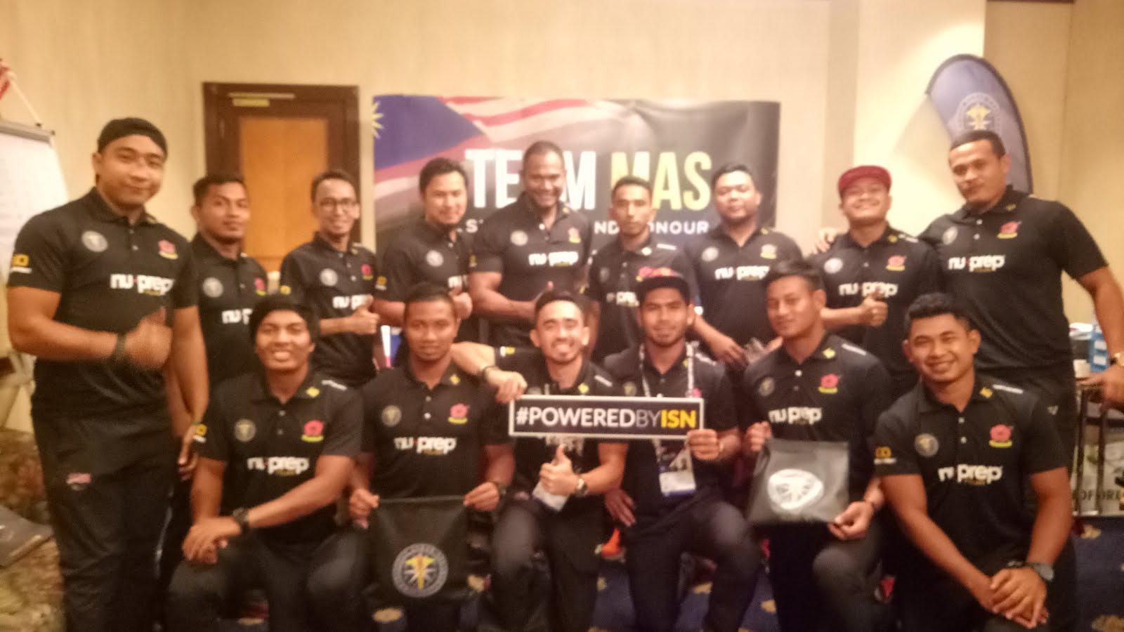 "Champion ""Malaysia BOLEH"" Rugby 7S Sea Games 2017."