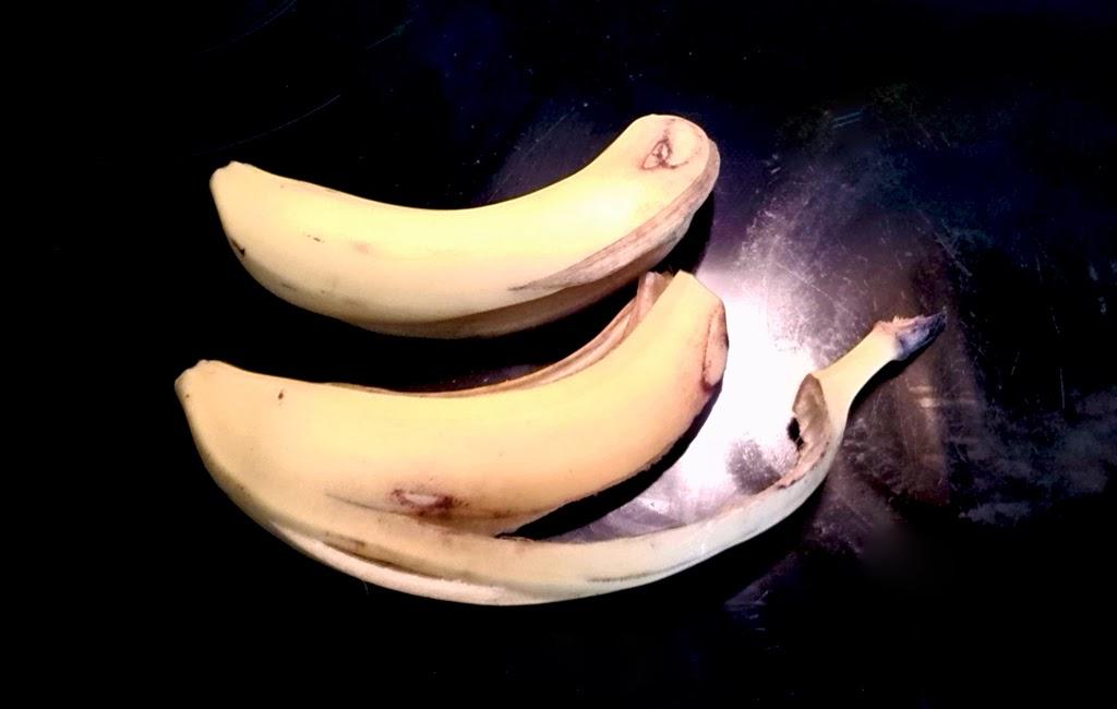 cascaras de plátano