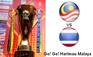 Piala Suzuki AFF  2012 : Thailand vs Malaysia
