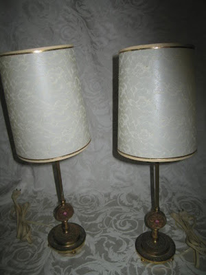 Hollywood Regency Style Bedroom Lamps Pair Of Antique Bedroom Vanity